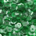Sequins, Dark green, Diameter 6mm, 810 pieces, 10g, Faceted Discs, Sequins are NOT shiny, [CZP202]
